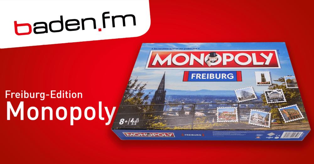 Monopoly in der exklusiven Freiburg-Edition