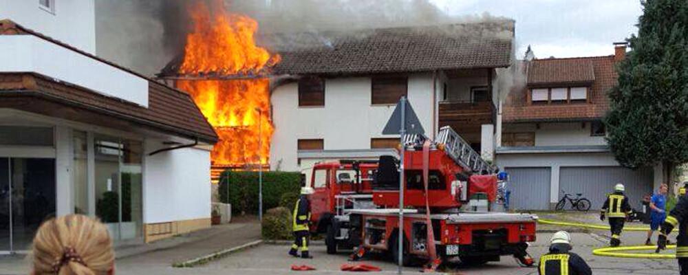 Feuerwehr, Schönau, Feuer, © baden.fm-Hörerfoto