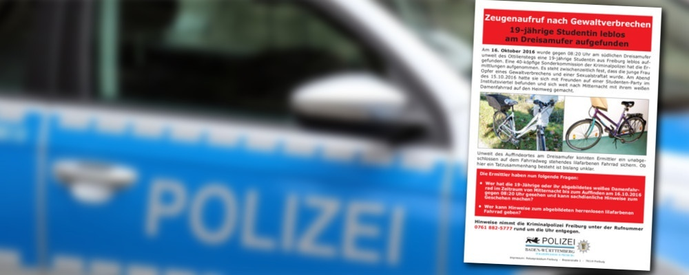 © Pixabay / Polizeipräsidium Freiburg