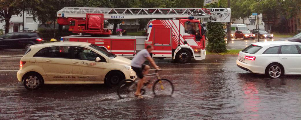Feuerwehr, Hochwasser, Freiburg, © baden.fm