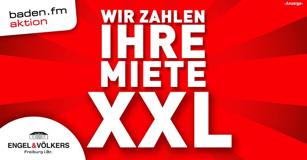 Wir zahlen Ihre Miete - eine Aktion von baden.fm und Engel & Völkers Freiburg