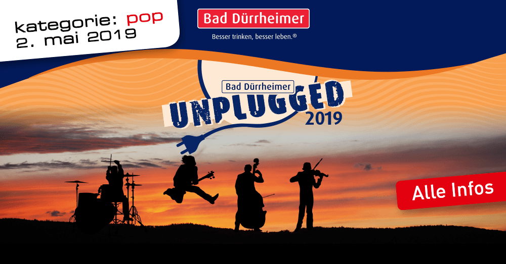 Bad Dürrheimer Unplugged Kategorie Pop Ganter Brauereiausschank