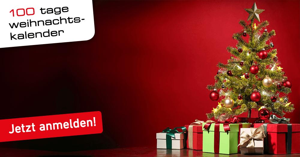 Der baden.fm 100 Tage Weihnachtskalender - jetzt gewinnen!