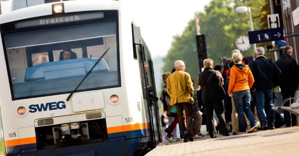 Breisach, SWEG, Bahnhof, Tram, © SWEG