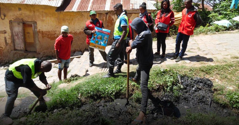 Madagaskar, Deutsches Rotes Kreuz, Lungenpest, © Madagassisches Rotes Kreuz / IFRK