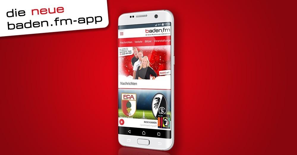 die neue baden.fm App für Android und iOS