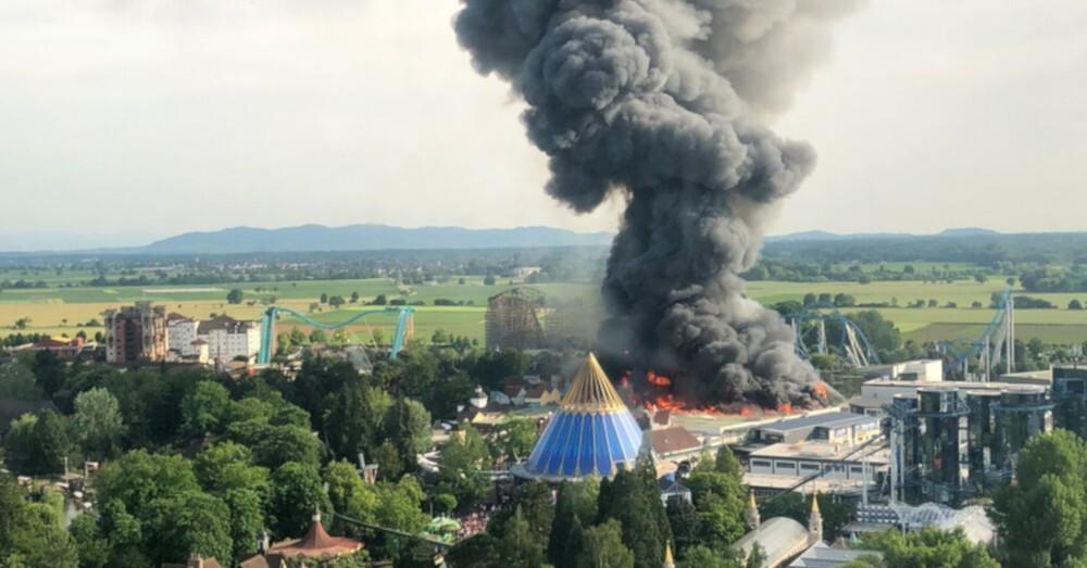 Europa-Park, Rust, Großbrand, © Christine Gertler - dpa