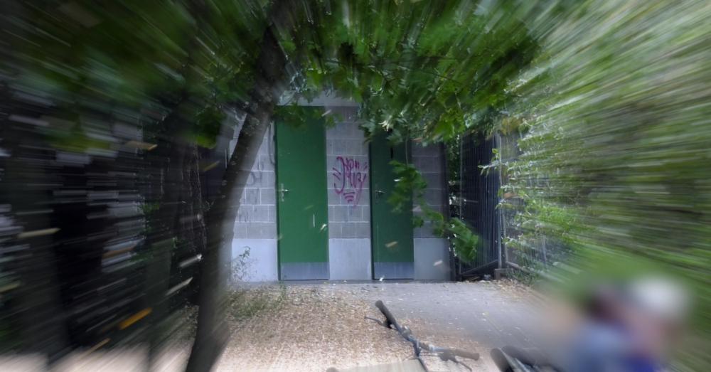 Würgeattacke, Seepark, WC, Toilette, © baden.fm