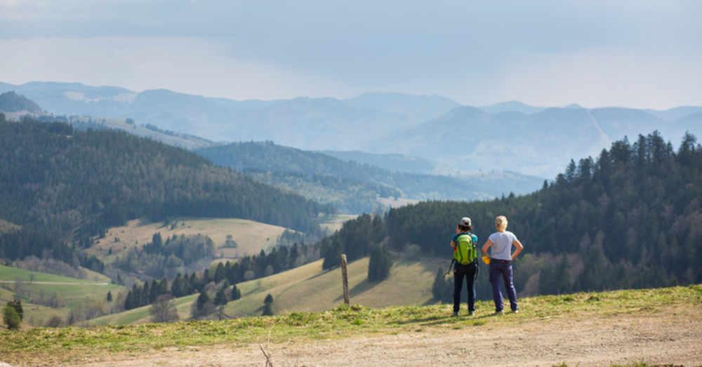 Hochschwarzwald, Wandern, Wanderer, Nonnmattenweier, Schwarzwald, © Philipp von Ditfurth - dpa (Symbolbild)