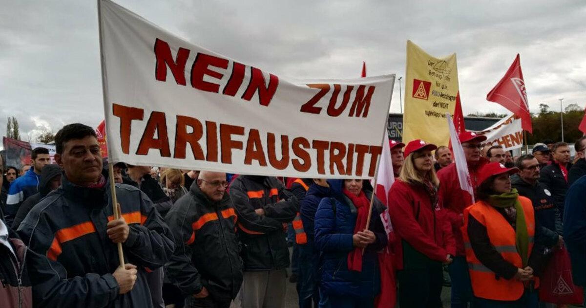 Auseinandersetzung um Tarifbindung bei Progress-Werk Oberkirch - baden.fm
