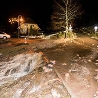 Unwetter, Hochwasser, Schwarzwald, Feuerwehr, THW