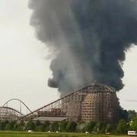 Europa-Park, Feuer, Großbrand