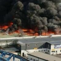 Europa-Park, Großbrand, Feuer
