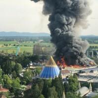 Europa-Park, Rust, Großbrand