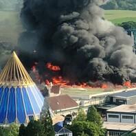 Großbrand, Europa-Park., Rust
