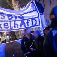 Demonstration, Gegendemo, Freiburg, Gruppenvergewaltigung