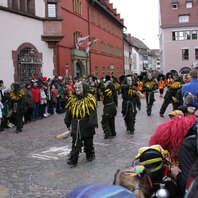 Fasnet, Rosenmontag, Freiburg, 2019