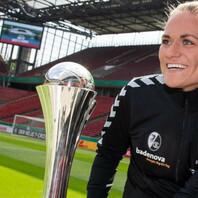Clara Schöne, SC Freiburg, Frauen, DFB Pokal