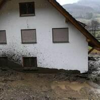 Hochwasser, Unwetter, Simonswald, Erdrutsch, Schlamm