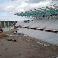 SC Freiburg, Stadion, Wolfswinkel, Baustelle