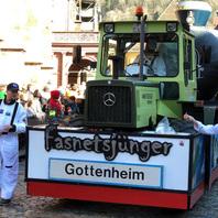 Fasnet, Rosenmontag, Fasnetmendig, Umzug, 2020, Freiburg, Narren