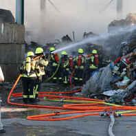 Malterdingen, Großbrand, Recyclingbetrieb, Hurter, Feuerwehr
