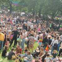 Christopher Street Day, Stühlinger Kirchplatz, CSD, 2021, Freiburg, LGBTQ
