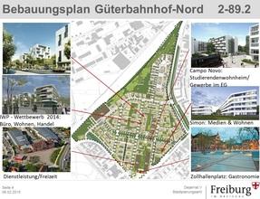 freiburg am g terbahnhof nord entstehen wohnungen f r. Black Bedroom Furniture Sets. Home Design Ideas