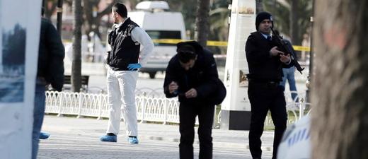 Terroranschlag, Istanbul, © Sedat Suna - dpa