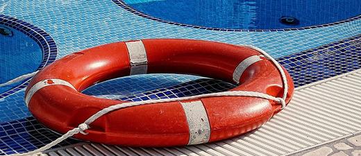 Rettungsring, Schwimmbad, © PIxabay