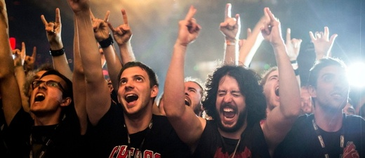 Rock, Metal, Konzert, Fans, © Balazs Mohai - dpa