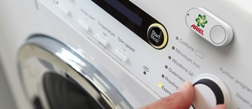 Waschmaschine, Dashknopf, Dash Button, © Amazon / dpa
