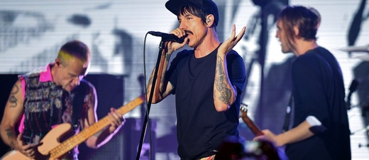 Red Hot Chili Peppers, Anthony Kiedis, Flea, Josh Klinghoffer, © Britta Pedersen - dpa