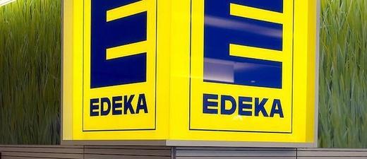 Edeka, Supermarkt, Logo, © Christian Charisius - dpa