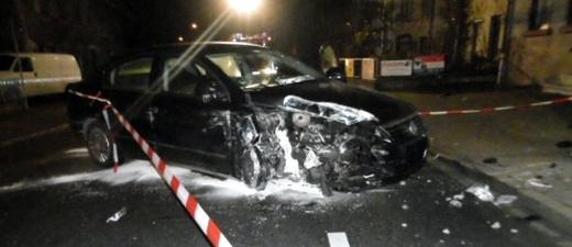 Unfall, Grenzach-Wyhlen, © Polizeipräsidium Freiburg