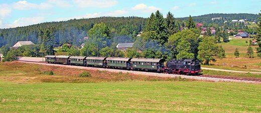 3seenbahn, dreiseenbahn, titisee, sebrugg, zug, schwarzwald, zugfahrt, © reservix