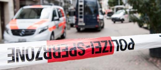 Schaffhausen, Polizei, Absperrung, © Ennio Leanza - Keystone / dpa
