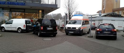 Ortenau Klinikum, Offenburg, Falschparker, © Ortenau Klinikum Offenburg