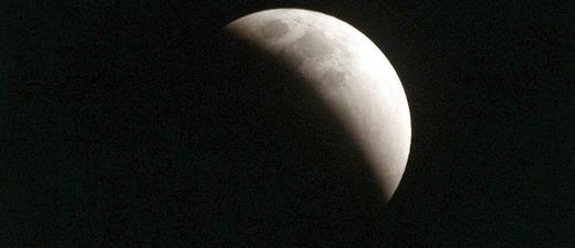 Mondfinsternis, Nacht, Himmel, © Pixabay (Symbolbild)
