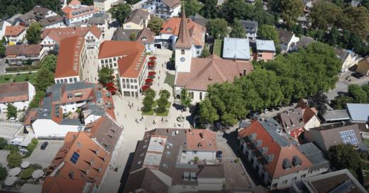 Bad Krozingen, Innenstadt, Visualisierung, © Stadt Bad Krozingen