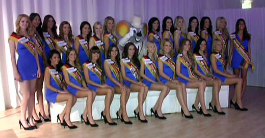 © TV Südbaden (Miss-Germany-Kandidatinnen 2013)