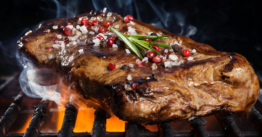Steak, Fleisch, Grill, © Fotolia/Jag_cz