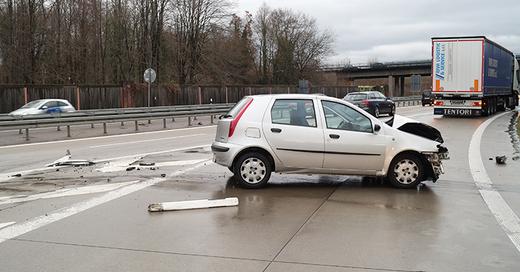 Unfall, A5, © Polizei