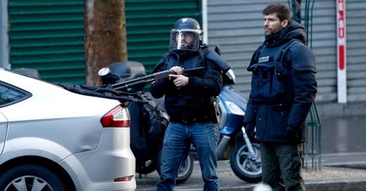 Paris, Polizei, Terror, © Yoan Valat - dpa
