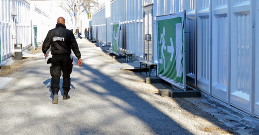 Sicherheitsdienst, Security, © Franziska Kraufmann - dpa