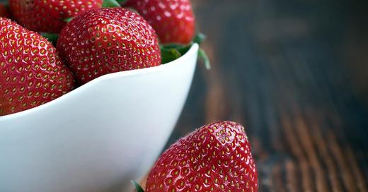 Erdbeeren, Schale, Frucht, © CC0 - Public Domain