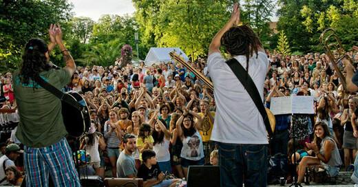 Stadtgarten, Freiburg stimmt ein, Festival, © Fidel-Gómez Sánchez