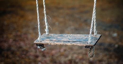 Schaukel, Spielplatz, © Pixabay