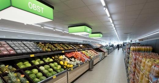 Aldi-Süd, Supermarkt, Discounter, © Peter Kneffel - dpa