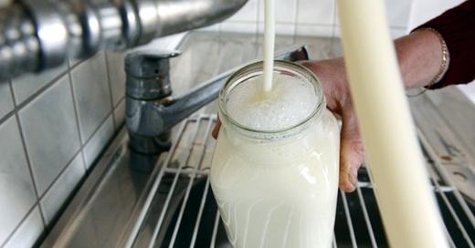 Milch, Landwirtschaft, © Felix Kästle - dpa